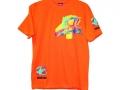 """Нанесение логотипа на футболке """"Роза Мира"""" (спереди)"""