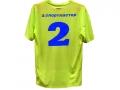 """Печать на спортивной форме """"Спортмастер"""" (желтая футболка, сзади)"""
