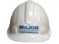 """Строительная каска с логотипом """"Major"""""""
