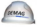 """Строительная каска с логотипом """"Demag"""""""